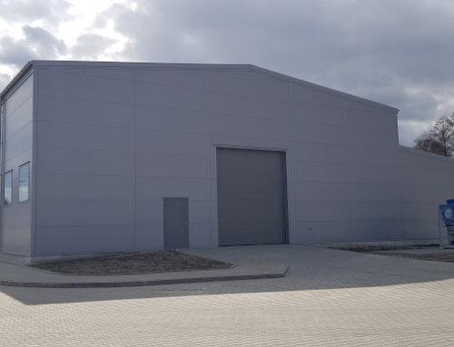 Llentab – dostawca hal stalowych. Budowy zakończone w kwietniu 2020