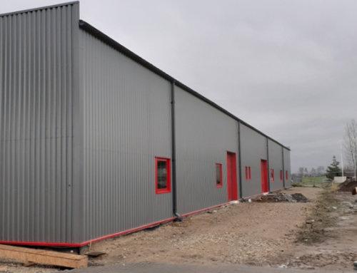 Naszą specjalnością są hale produkcyjne. Budowy zakończone w październiku – część 2