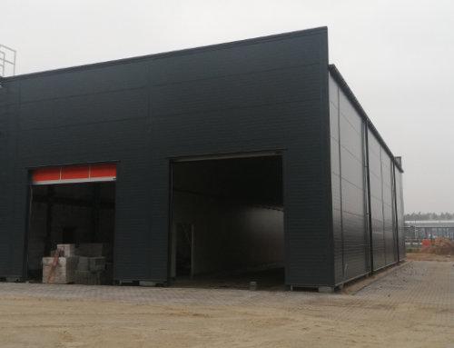 Llentab – Ekspert w produkcji hal magazynowych. Budowy zakończone w październiku – część 1