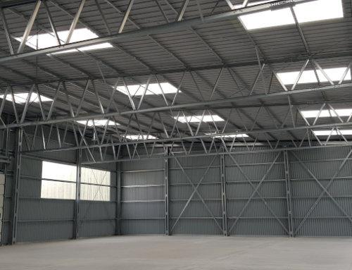 System Llentab synonimem określenia hali stalowej wysokiej jakości.  Budowy zakończone w maju 2020