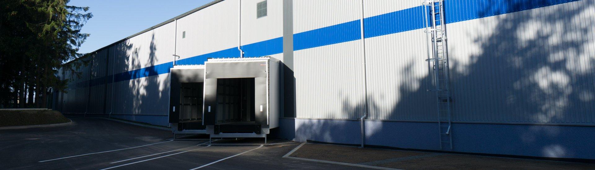 Logistics storage building Příbram