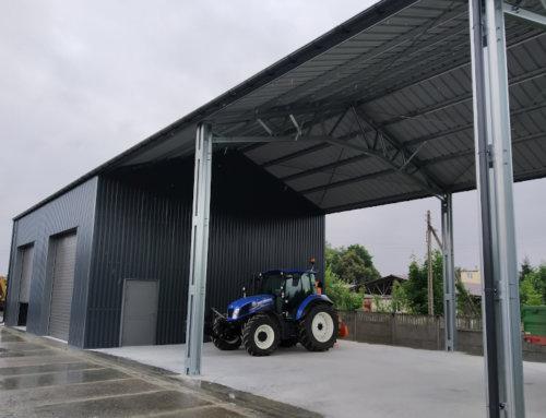 Magazyny i hale produkcyjne to mocny filar naszej oferty.  Hale wybudowane w lipcu 2020