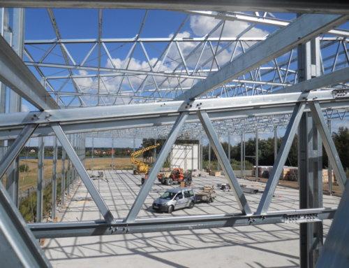 W grudniu rozpoczęliśmy budowę kolejnych pięciu hal